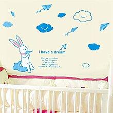 Rureng Aufkleber Kaninchen Wand Aufkleber Wand