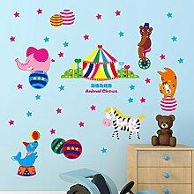 Rureng Aufkleber Kinderzimmer Wand Aufkleber Tier