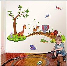 Rureng Cartoon's Animal Bridge Kindergarten