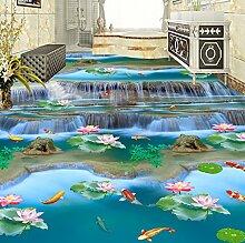 Rureng Fototapete 3D Stereo Wasserfälle Flüsse