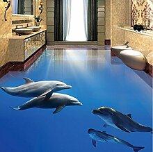 Rureng Fototapete Moderne Dolphin Unterwasserwelt