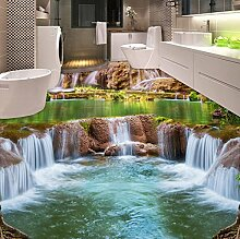 Rureng Fototapete Moderne Wasserfälle Landschaft