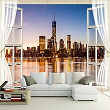Rureng Fototapete Neueste Vor Dem Fenster New York