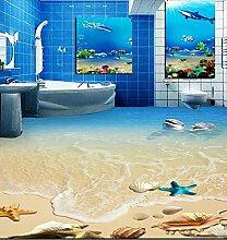 Rureng Hd Dolphin Shell Wc Schlafzimmer 3D Boden
