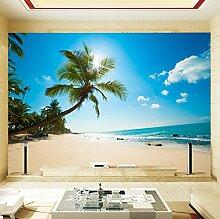 Rureng Mittelmeer Stil Palm Beach Landschaft Meer