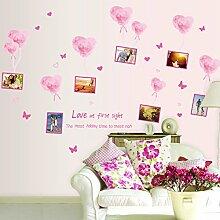 Rureng Rosa Liebe Bilderrahmen Romantisches Paar