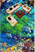 Rureng Tapete Des Bodens 3D Marmorparketttapeten