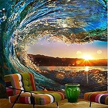 Rureng Wave Sunset Fototapete Landschaft Für