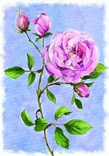 Russ Berrie 644411 Englische Rose Gartenflagge