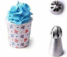 Russische Tulip Edelstahl Tipps Sphere Whip Cream