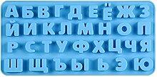 Russisches Alphabet Silikon Brief Formen