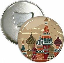 Russland Kathedrale Building rot eckig rund