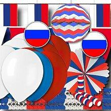 Russland Partydeko Grundausstattung