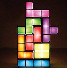 Russland Quadrat Lampe Würfel Kombination Stereo Puzzle Lichter kreative Heimat Lichter Russland Quadrat Spiel Maschine Lichter Stimmung Lichter