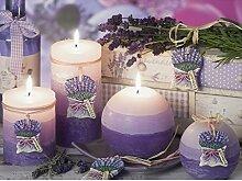 RUSTIC LAVENDER Handgemachte Dekokerze, Lavendelduft, Duftkerze, Kerze, Rustic Duftkerze, Rustic Kerze Geschenkidee
