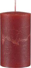 Rustik Adventskerzen Rot, 4er Set
