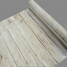Rustikal hellbraun Holz Panel Kontakt Papier Film Selbstklebendes Vinyl Regal Schublade Liner für Küche Schränke Tür 45x 500cm