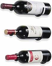 Rustikal State Wandhalterung Eisen Wein