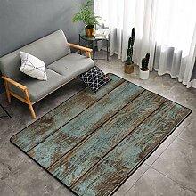 Rustikale alte Scheune Holz Küche Teppiche,