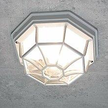 Rustikale Außen Deckenleuchte Außenlampe in