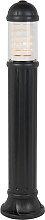 Rustikale Außenleuchte schwarz 110 cm - Sauro