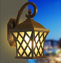 Rustikale Aussenleuchte, Vintage Außenlampe,