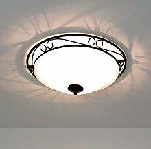 Rustikale D47 cm Deckenleuchte Deckenlampe im