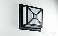Rustikale Feuchtraumlampe für Wand oder Decke Außenleuchte in antik IP54 / Außenlampe Außenleuchte