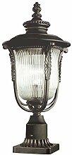 Rustikale Gartenlampe Stehend aus Metall