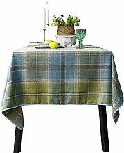 Rustikale Karierte Tischdecke, Schottische