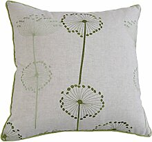 Rustikale Mischung Sofa Throw Pillow Sofakissen einfache Pflanzen blühen Kissen-A 55x55cm(22x22inch)VersionA