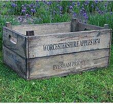 Rustikaler Stil Holzkommode Holz Apple