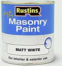 Rustins Fassadenfarbe 250ml Weiß