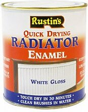 Rustins QD Radiator Enamel Gloss 500ml