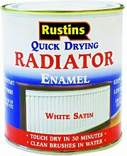 Rustins Quick Dry Radiator Emaille Gloss White 250 ml