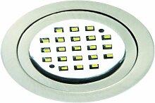 Rutec - LED-Einbaustrahler 3W LARA 3000K A+ 1LED