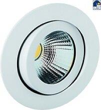 Rutec LED Einbaustrahler, 7W, 40°, 2300-3000K,