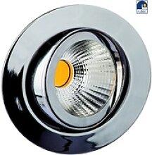 Rutec LED Einbaustrahler, 8W, 25°, 2700K, 350mA,