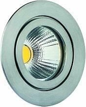 Rutec - LED-Einbaustrahler 8W TULKA 2700K A+ mt