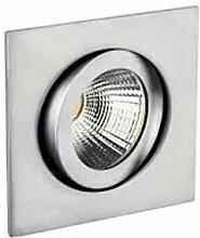 Rutec LED Einbaustrahler ALU53399UWWD - incl. LED
