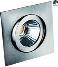 Rutec LED Einbaustrahler QUADRO, 8W, 2700K, 25°,