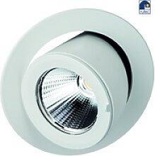 Rutec LED-Einbaustrahler RINCA, rund, ausziehbar,