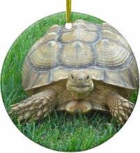 Rutehiy Weihnachtsbaum-Deko Schildkröte