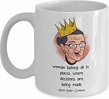 Ruth Bader Ginsburg Coffee Mug - Women Being All