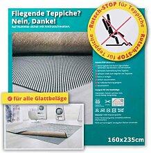 Rutsch-Stop Gitternetz 160x235cm - Anti-Rutsch-Matte für Teppich - Teppich-Stop