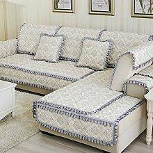 Rutschen Sofakissen/ Stil der europäischen Sitz/Einfachen modernen Stil Sofa-E 70x70cm(28x28inch)
