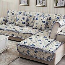 Rutschen Sofakissen/ Stil der europäischen Sitz/Einfachen modernen Stil Sofa-C 90x180cm(35x71inch)