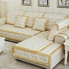 Rutschen Sofakissen/ Stil der europäischen Sitz/Einfachen modernen Stil Sofa-G 90x240cm(35x94inch)