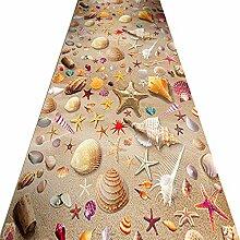 Rutschfest Teppich Läufer Für Den Flur,3D Strand