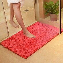 Rutschfeste Badematte Badteppich aus Mikrofaser